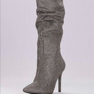 Jessica Simpson Layzer slouched Rhinestone Boots